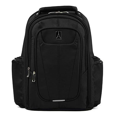 "Travelpro Luggage Maxlite 5 17.5"" Lightweight Under Seat Laptop Backpack, Black, One Size"