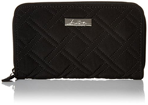 Vera Bradley Accordion Wallet, Classic Black, One Size