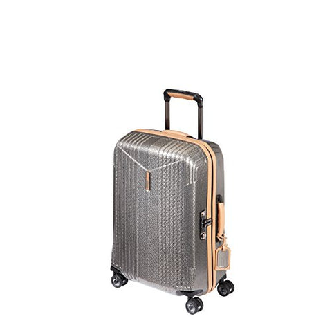 Hartmann 7R Small Spinner, Carry On Aluminum Luggage In Titanium