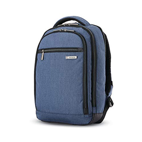 Samsonite Modern Utility Mini Laptop Backpack, Blue Chambray One Size