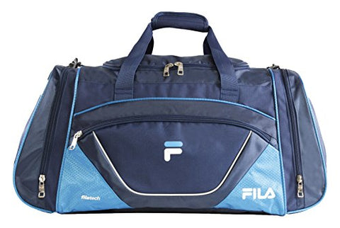 Fila Acer Large Sport Duffel Bag, Navy/Blue, One Size