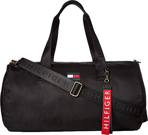 Tommy Hilfiger Women's Leah Duffel Black One Size