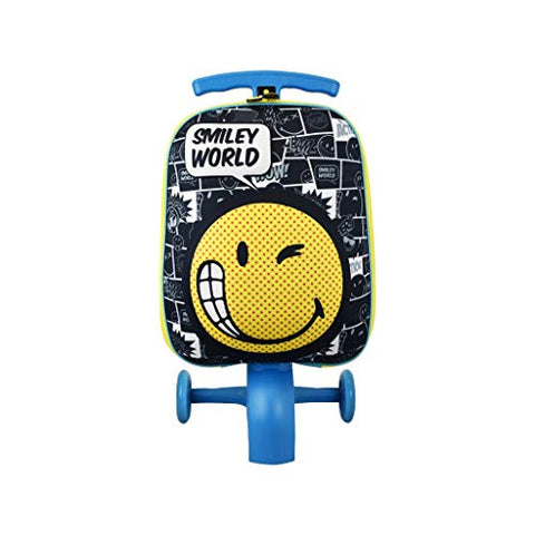 ATM Kid's Wink Smiley Scootie Luggage