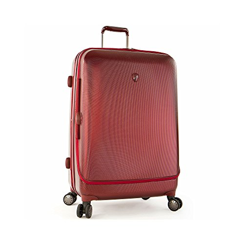 "Portal 26"" Spinner Suitcase Color Burgundy"