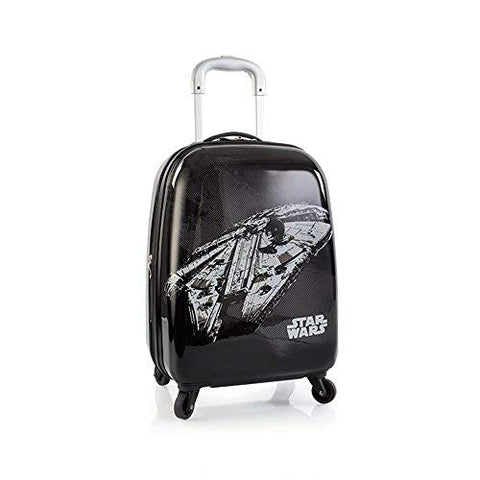 Star Wars Tween 21 Inch Hard Side Carry-on Spinner Luggage for Kids [Black] …