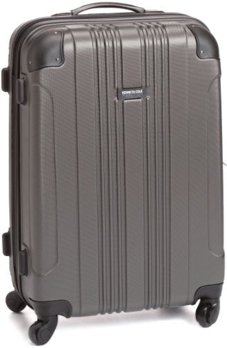 Kenneth Cole Reaction Luggage Take Me Out Wheeled Suitcase, Charcoal, Medium