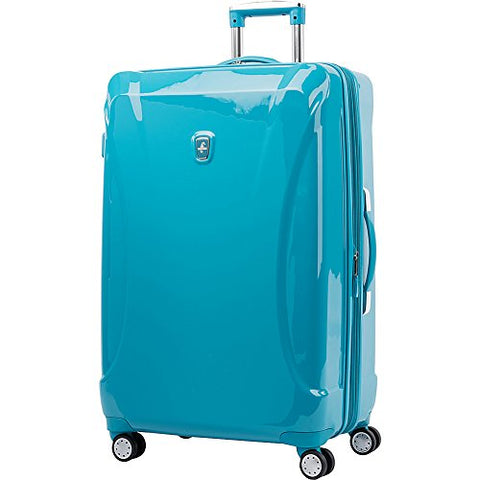 "Atlantic Ultra Lite Hardsides 28"" Spinner Suitcase, Turquoise Blue"