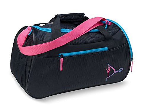 Dansbagz By Danshuz Women'S Neon Dancer'S Gear Bag, Black, Os