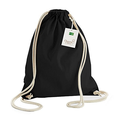 Westford Mill Earthware Organic Gymsac (13 Liters) (One Size) (Light Grey)