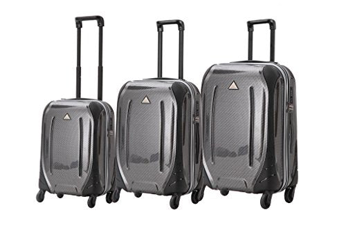 Triforce Empire Collection Hardside 3 piece Spinner Luggage Set