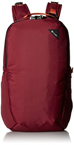 Pacsafe Vibe 25 Anti-Theft 25L Backpack, Dark Berry