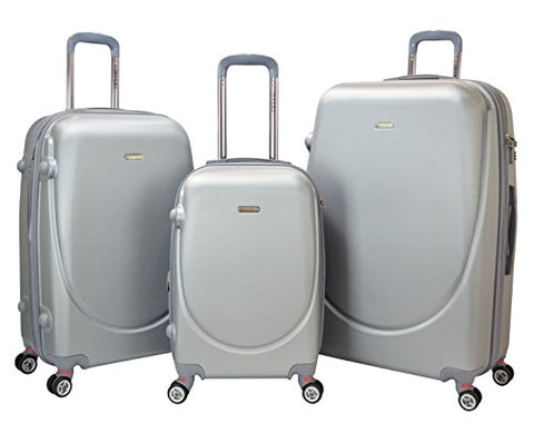 T.P.R.C. Barnet 2.0 3PC Premium Round Shell Expandable Double-Spinner Luggage