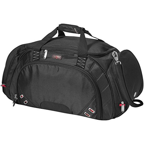 Elleven Proton Travel Bag (22 x 10 x 12 inches) (Solid Black)
