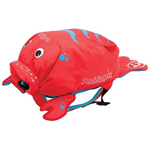 Trunki Paddlepak Water-Resistant Backpack - Pinch The Lobster (Red)
