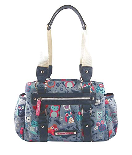 Lily Bloom Landon Triple Section Satchel, Night Owl