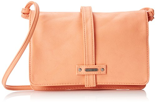 Roxy Globe Trotter Messenger Cross Body Handbag, Melon, One Size