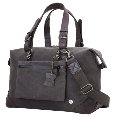 Token Bags Lafayette Waxed Duffel Bag, Dark Brown, One Size