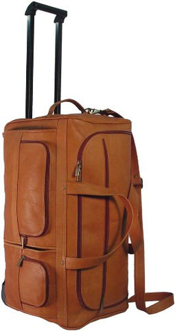 David King & Co. 22 Inch Rolling Duffel, Tan, One Size