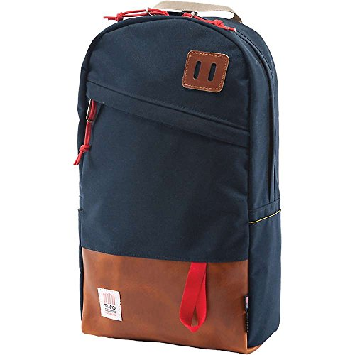 Topo Designs Daypack Navy Leather One Size