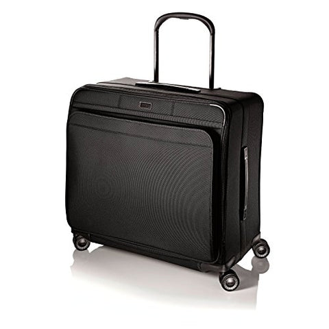 Hartmann Ratio Extended Journey Glider, Nylon Spinner Suitcase In Black