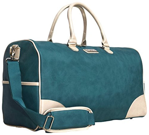 Nicole Miller Sharon City Duffel Bags (Teal)
