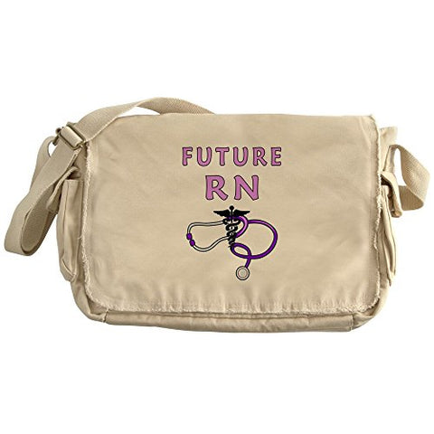 Cafepress - Nurse Future Rn - Unique Messenger Bag, Canvas Courier Bag