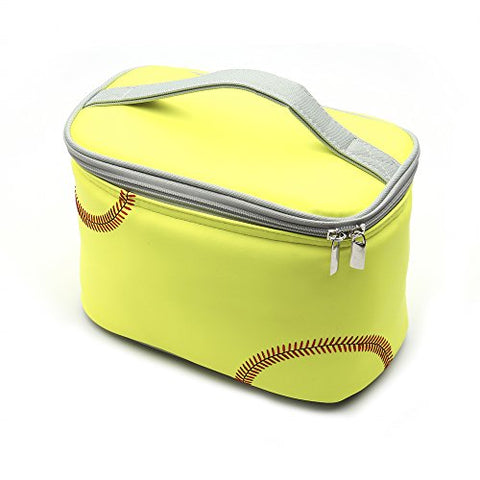Zumer Sport Insulated Lunch Cooler, Softball Yellow, One Size