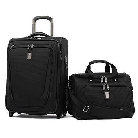 "Travelpro Crew 11 2 Piece Set (20"" Bus Plus Rollaboard And Deluxe Tote)"