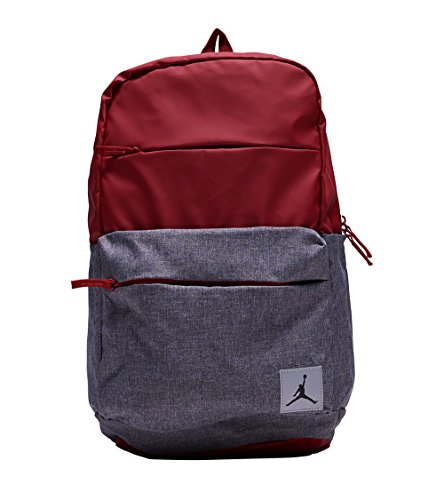 Nike Jordan Pivot Colorblocked Classic School Backpack (Gym Red)