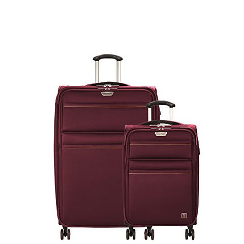 Ricardo Beverly Hills Mar Vista 2.0 | 2-Piece Set | 21-Inch C/O And 29-Inch Spinner (Wine)