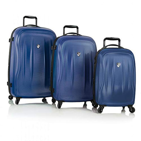 Heys America SuperLite Hardside 3pc Spinner Set (Midnight Blue)