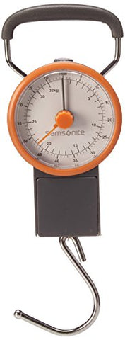 Samsonite Luggage Scale, 21 cm, Grey/Orange 57357/1419