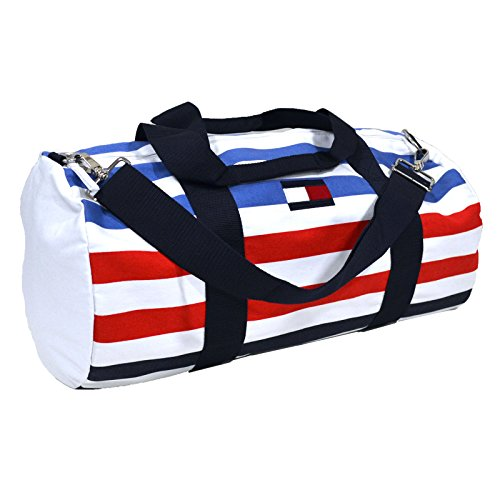 Tommy Hilfiger Large Multi Striped Duffle Bag
