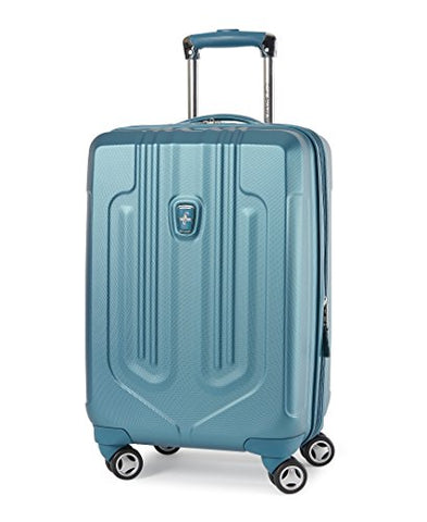 Atlantic Luggage Ultra Lite Carry-On Exp Hardside Spinner, Turquoise