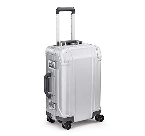 Zero Halliburton Geo Aluminum 3.0 International Carry-On (Silver)
