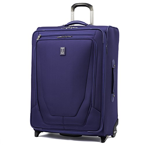 "Travelpro Luggage Crew 11 26"" Expandable Rollaboard Suitcase w/Suiter, Indigo"