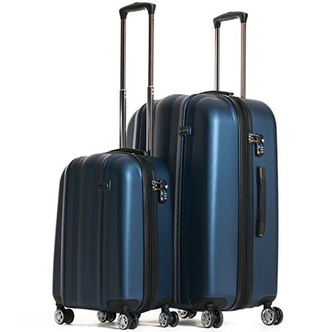 CALPAK Winton' Expandable Luggage Set, Navy Blue