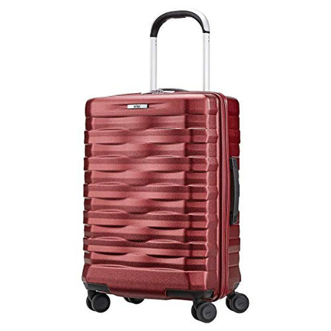 "Hartmann Excelsior 22"" Carry-on Spinner Red Hardside"