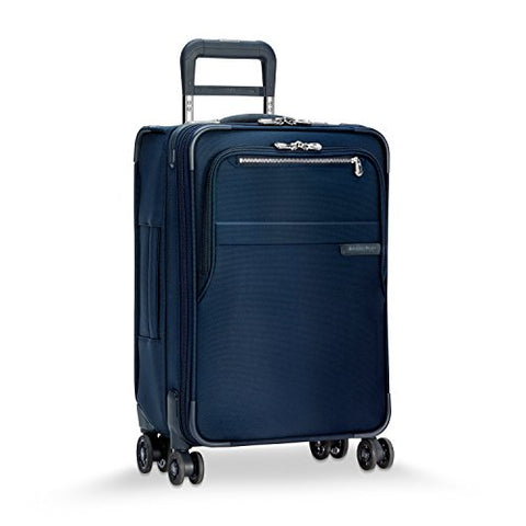 "Briggs & Riley Baseline Domestic Expandable Carry-On 22"" Spinner, Navy"
