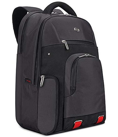 "Solo Stealth 15.6"" Laptop Backpack, Black"