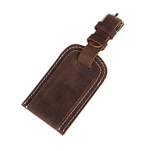 Genuine Leather Luggage Bag Tags Travel Id Bag Tag Airlines Baggage Suitcase Labels
