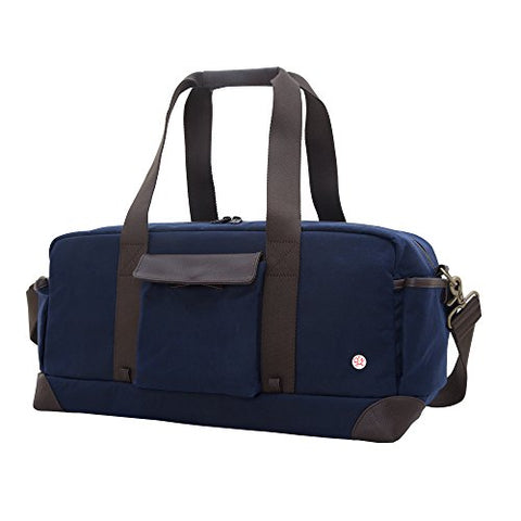 Token Bags Waxed Northern Duffel, Navy, One Size