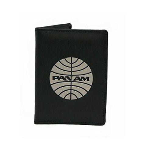 Pan Am Men'S Passport Cover-3, Black, X-Small