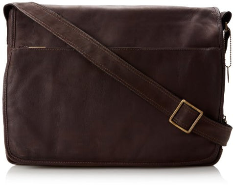 David King & Co. Laptop Messenger Bag, Cafe, One Size