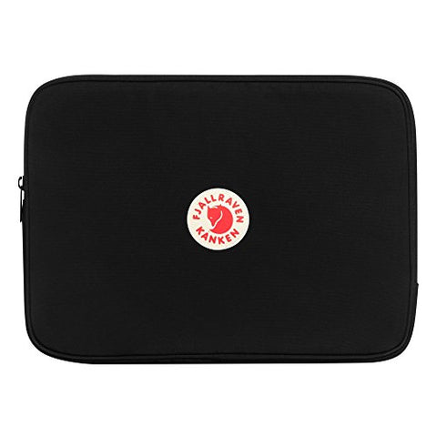 "Fjallraven - Kanken Laptop Case 13"" for School and Work, Black"