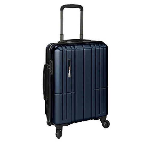 Traveler'S Choice Wellington 21 Inch Hardside Spinner, Blue, One Size