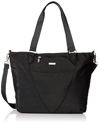 Baggallini Avenue Travel Tote, Black, One Size