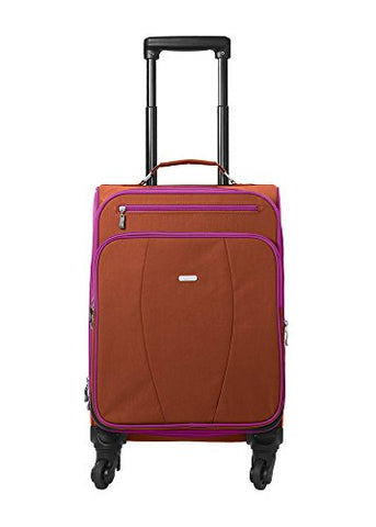 Baggallini Getaway Carryon Travel Roller, Papaya