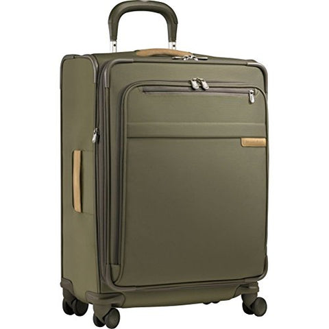 Briggs & Riley Luggage Baseline Spinner, Olive, Medium