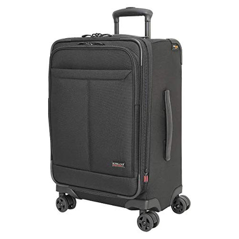 "Kirkland Signature Softside 22"" 4 Wheel Carry-On, Black"